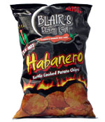 Death Rain Habanero Chips Bag